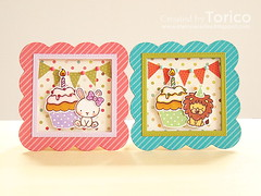 Mini Birthday Cards photo by Torico27