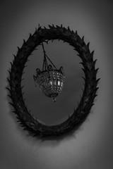 Chandalier in Mirror photo by Rikardo daVinci