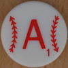 Major League Baseball Scrabble Letter A