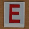 Hangman Red Letter E