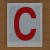 Hangman Red Letter C