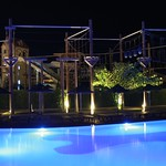 High ropes at night<br/>19 Aug 2014