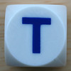 Boggle Dice Letter T
