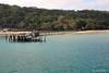 The Barge Landing Pier at Kingfisher Bay Resort - Fraser Island, SE Queensland