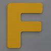 Foam Play Mat Letter F