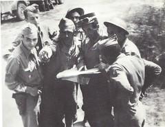 1944- Italie -  soldats DFL 500 m Pontecorvo- Gaujac