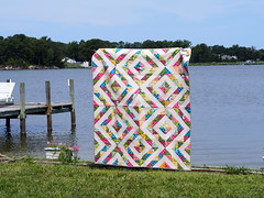 Stained Glass Quilt photo by CreativeReveries
