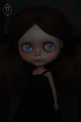 My Custom Commissions Blythe Doll. photo by little dolls room