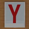 Hangman Red Letter Y
