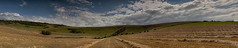 Long Man Panorama photo by Phil-Clements