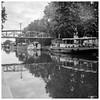 Nancy, Canal et passerelle Lecreux