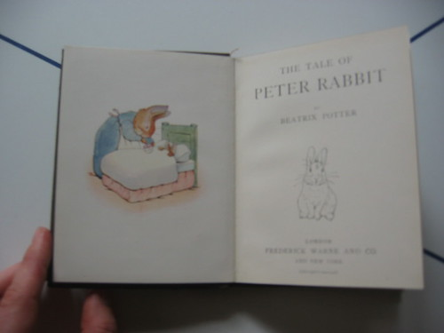 Peter Rabbit Title Page