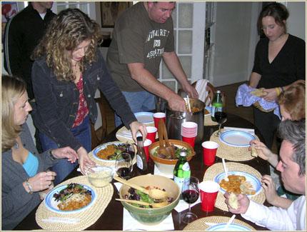 Anti-Valentine Dinner