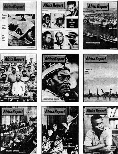 Africa Report covers 1966