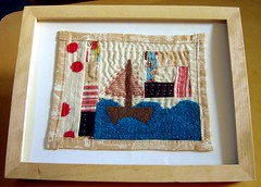 Sailor Jack Textile Art