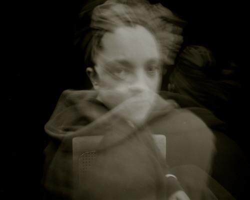 pinhole self-portrait by Katie Cooke