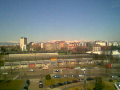 Grigna and Grignone, landscape from my office