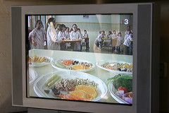 Cocina en la escuela