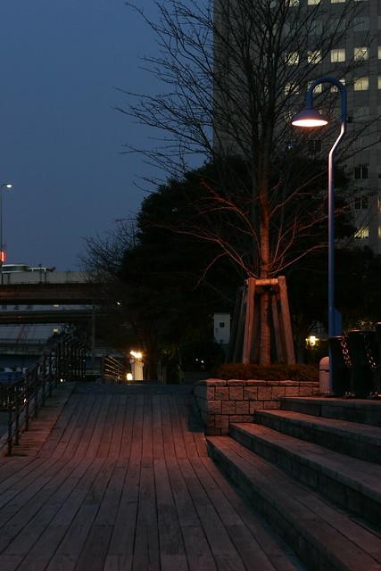 シリーズ「宵」-街灯が照らす景色-