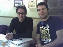 Alfie Denan and Chris Skinner
