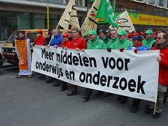 Betoging tegen Vandenbroucke