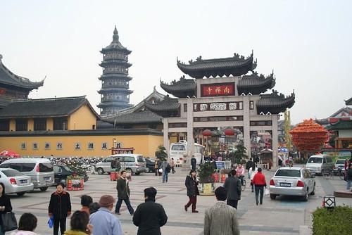 Nanchang temple market