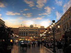 Venice, in The Venetian