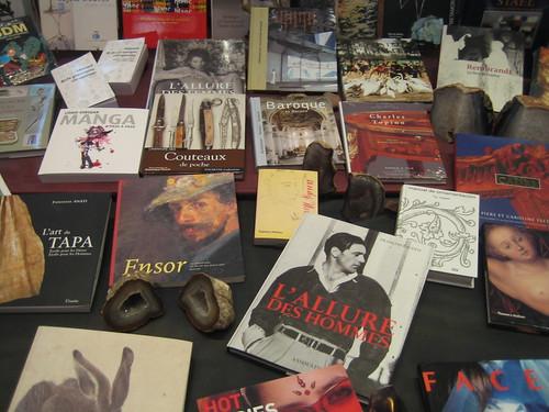 Escaparate de una librería en Barcelona