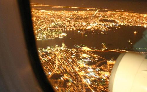 Manhattan from the air
