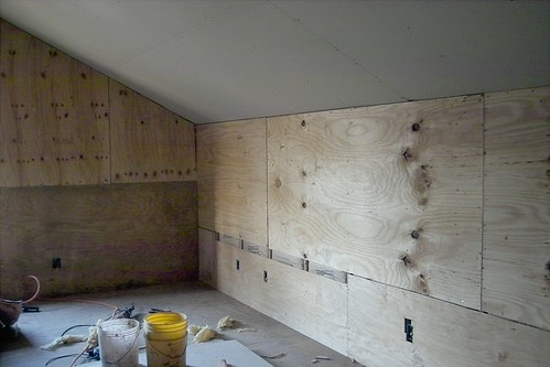 Shear Walls in the Guest Suite