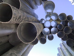 Sibelius Monument from below - Helsinki, Finland  (4)