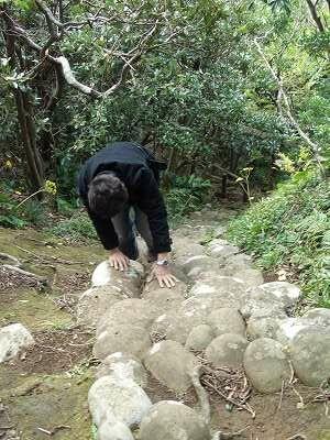 20051218 裏見ヶ滝温泉 遊歩道1