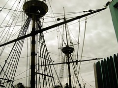 Sails of Mayflower