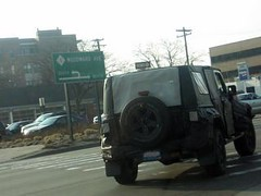 Four Door Wrangler Spy Shot