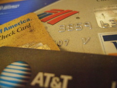 Credit Cards; CC-licensed; by Life As Art; Source: http://flickr.com/photos/lifeasart/122463367/