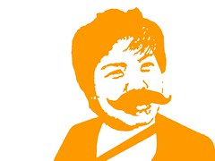 mustache annie