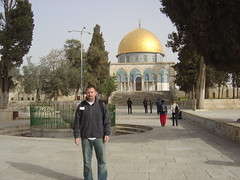 Josh on the Temple Mount