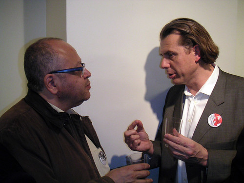 Pascal Renou et Christian Brugeron
