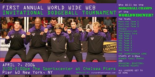 Invitacion WWW Dodgeball