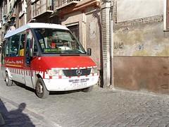 Bus Utk Ke Alhambra Dari Plaza Nueva, Granada, Spain
