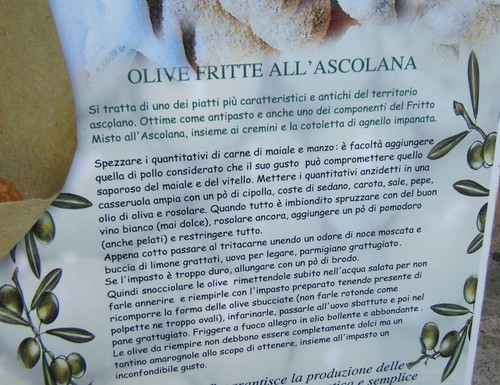 Olive fritte all'ascolana