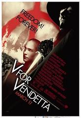 V de Vendetta: nuevo póster