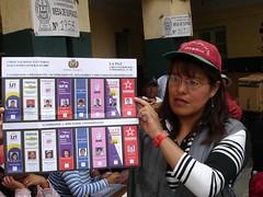 Bolivian Presidential Ballot