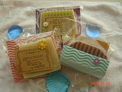 Tina's Soap set