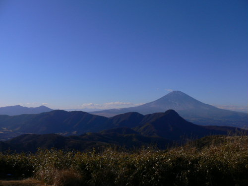 Mt.Fuji viewed from Mt. Myojin-gatake