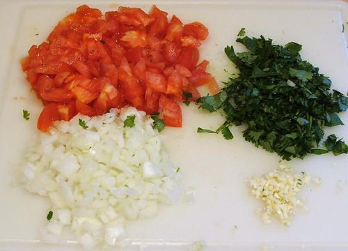 Colombian Empanadas: Step 10 - Filling: Step 4 - Hogao: Step 2