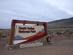 Death Valley 入り口