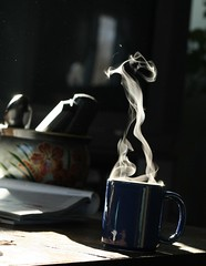 Steaming Coffee photo by captainmcdan