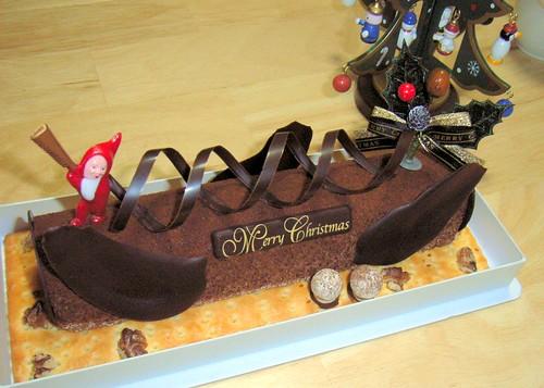 Xmas cake.