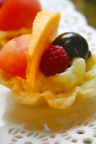 Tarteletas con frutas
